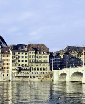 Altstadt am Rhein / Schweiz
